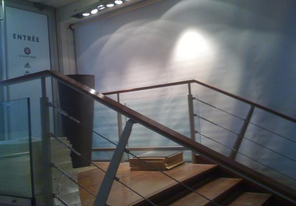 Store intérieur agence