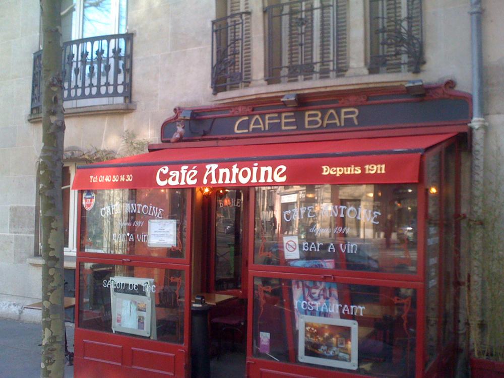 Store de café et commerce