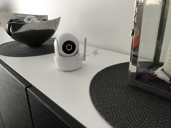Technistores installation de caméra de vidéo surveillance VISIDOM ICM100