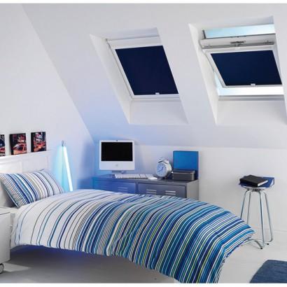 Store enrouleur Clip'n roll adapté aux fenêtres de toit