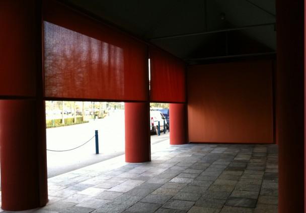 Technistores installation de store vertical