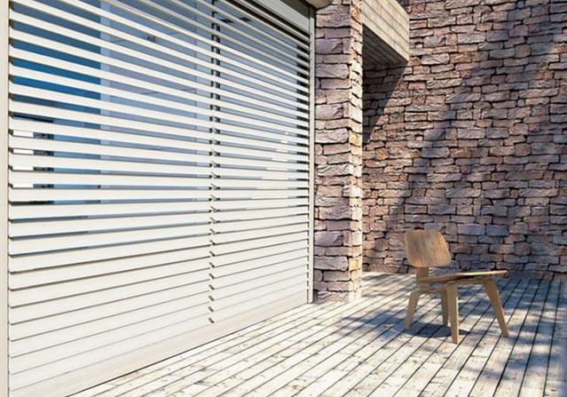 Brise-soleil orientable innovant