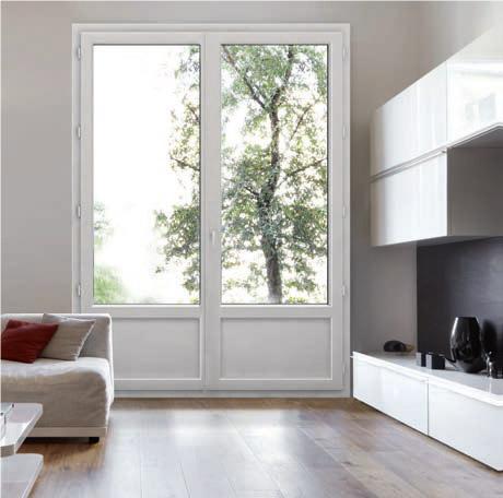 les portes-fenêtres Technistores allient esthétique et sécurité